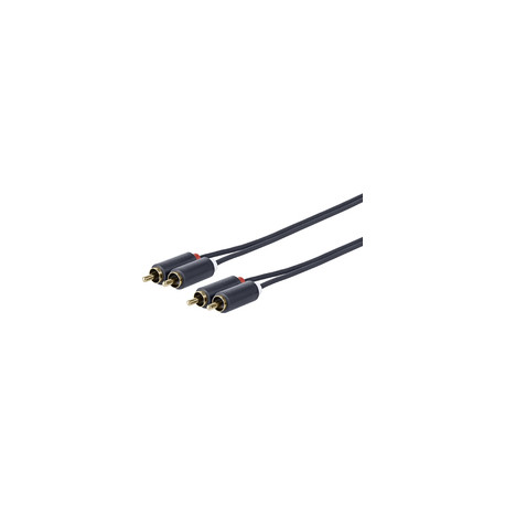 Vivolink 2 X RCA - 2 X RCA M-M 1.5 M Ref: PRORCARCA1.5